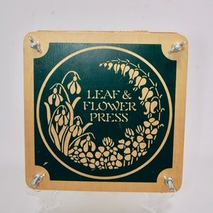 Other - Wooden Leaf and Flower Press